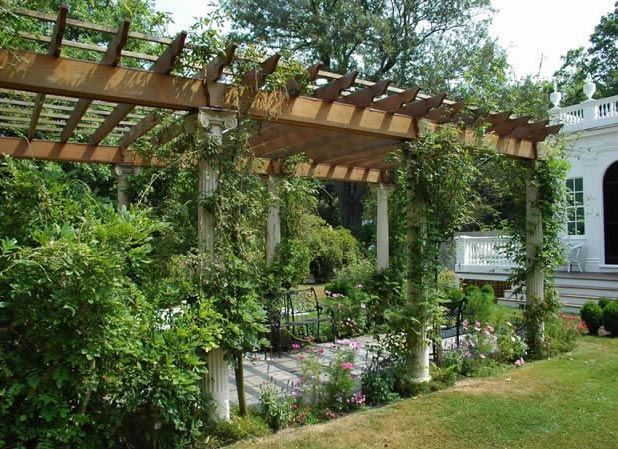 Discover Fine House Architectural Garden Structures