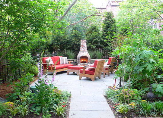 James Stephenson The Artist Garden Hardscape Design at Home Infatuation Blog