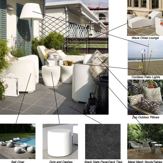Get The Look Hardscape on a Balcony at Home Infatuation Blog