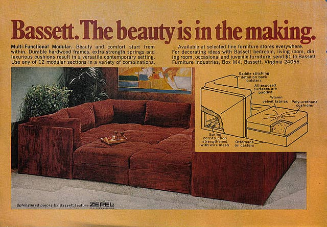 Jackie121467 on Flickr Vintage and Retro Sectional Sofas at Home Infatuation Blog : retro sectional sofas - Sectionals, Sofas & Couches