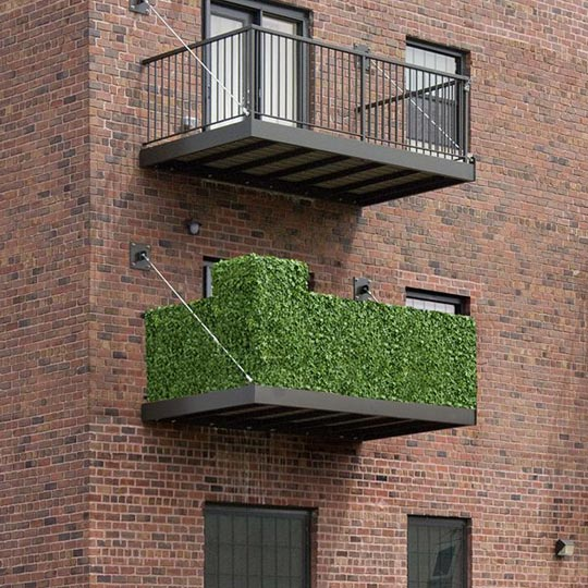 discover balcony rail hedges for privacy home