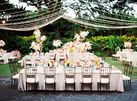 Ruche Wedding Wednesday Creative Lighting Ideas