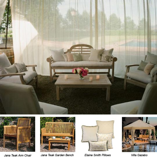 Get The Look - Lounge Area for Outdoor Entertaining - Home ...