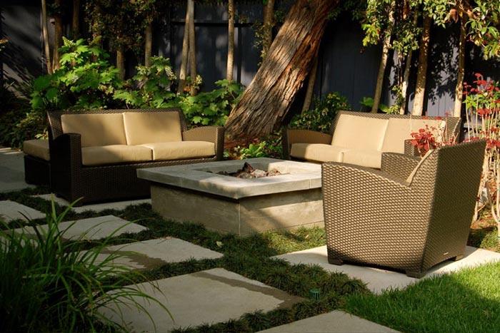 Inner Gardens Luxury Outdoor Brown Wicker At Home Infatuation Blog