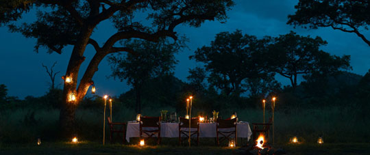 Virgin Limited Ulusaba Luxury Hotel Lighting and Torches at Home Infatuation Blog