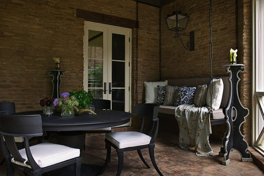 Gwen Driscoll Designs Moody Luxury Outdoor Space at Home Infatuation Blog