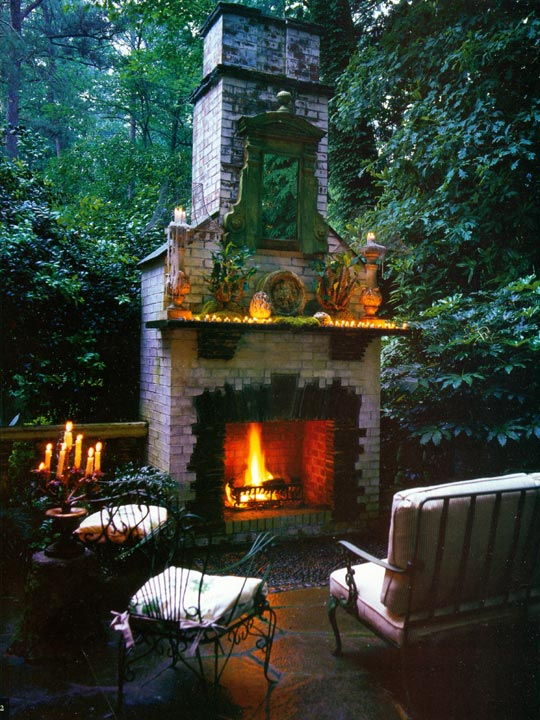 Garden Design Moody Design Style Luxury Outdoor Space at Home Infatuation Blog