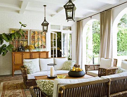Design 101 The Cozy Loggia Home Infatuation Blog