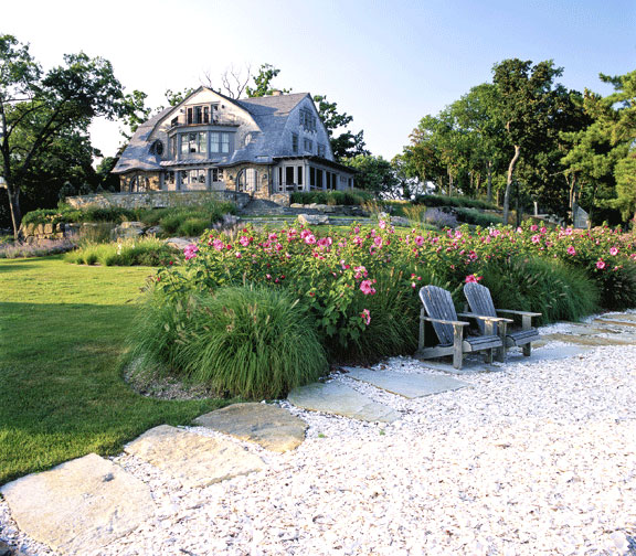 Design 101 the cape cod adirondack chair home for Cape cod home landscape design