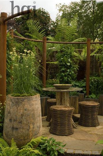 Harpur Jardin Images luxe en osier et rotin extérieure à la maison Infatuation Blog