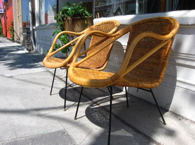 Mid Century Outdoor Wicker Furniture 3 At Home Infatuation Blog