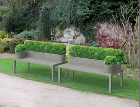 Top topic unique bench seating home infatuation blog for Unique garden designs