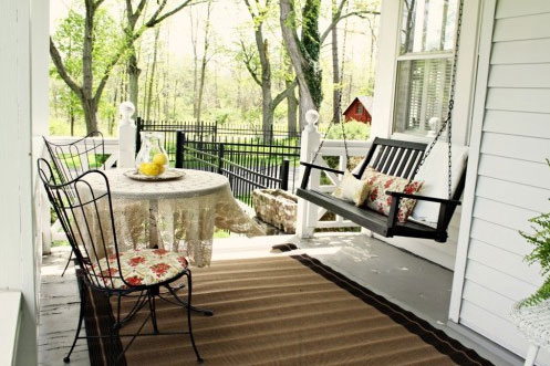 Design 101 Classic Porch Swings Home Infatuation Blog