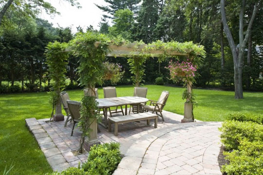 houzz luxury pergola outdoor rooms at home infatuation blog