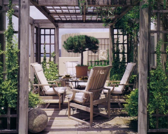 Design 101 pergola outdoor rooms home infatuation blog for Rooms under the garden