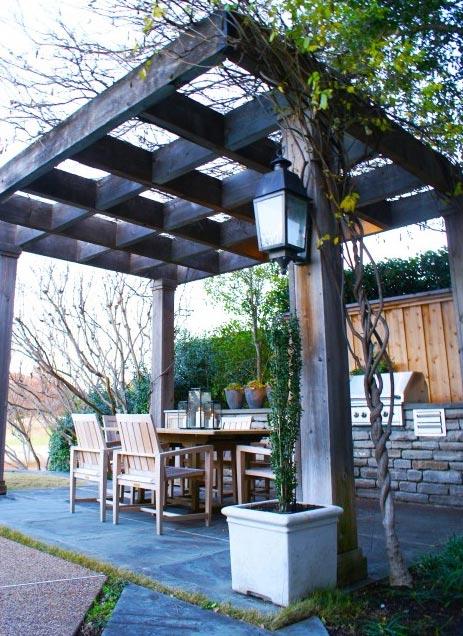Design 101 pergola outdoor rooms home infatuation blog for Pergola images houzz