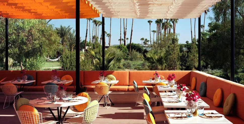 Superior Parker Palm Springs Luxury Metal Outdoor Furniture At Home Infatuation Blog    Armchair Traveler   Metal