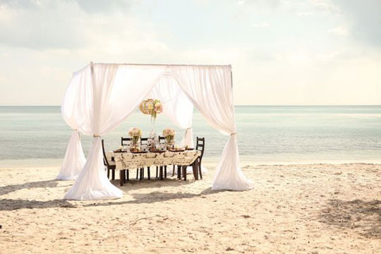 Style Me Pretty Romantic Outdoor Curtains