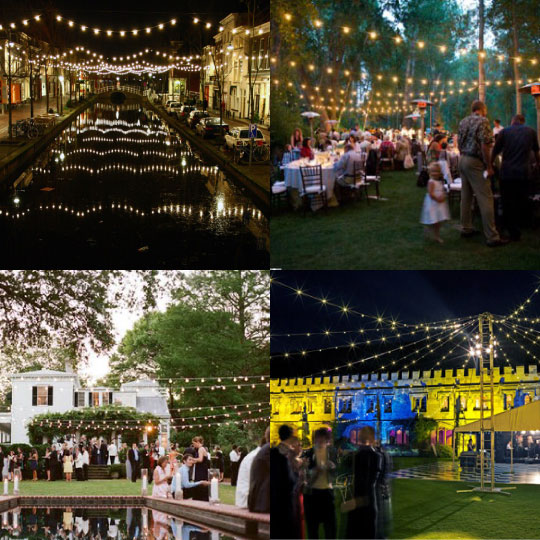 Commercial String Lights For Luxury Outdoor Living At Home Infatuation Blog