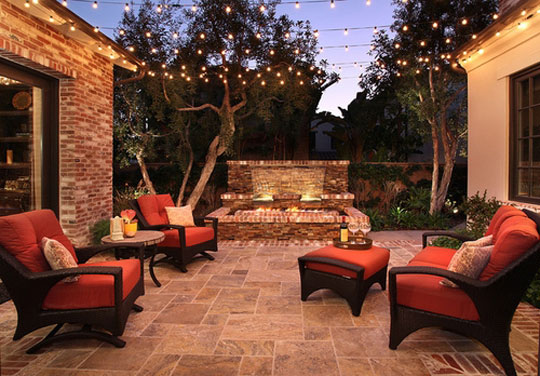 Beautiful Design String Lights In Small Spaces With Home Depot Outdoor  Lighting