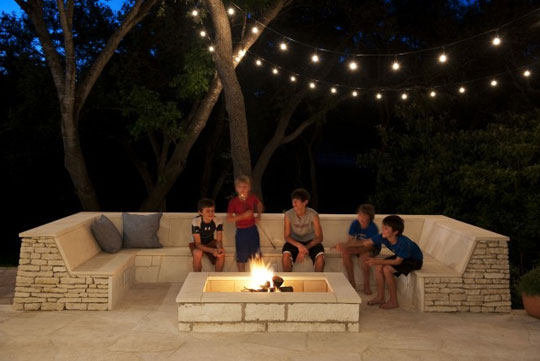 Urban Jobe Architecture Luxury Outdoor String Lights at Home Infatuation Blog