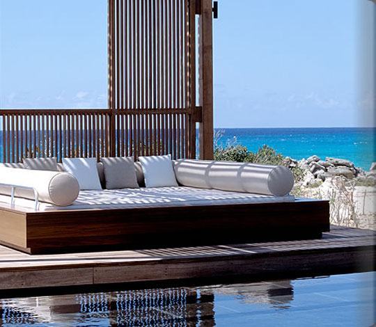 Armchair Traveler - Luxury Hotel Daybed Bolsters - Home Infatuation ...