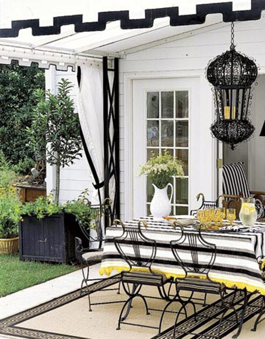 Country Living Patio Furniture Replacement Cushions: Shapes Of Metal Furniture Via Country Living