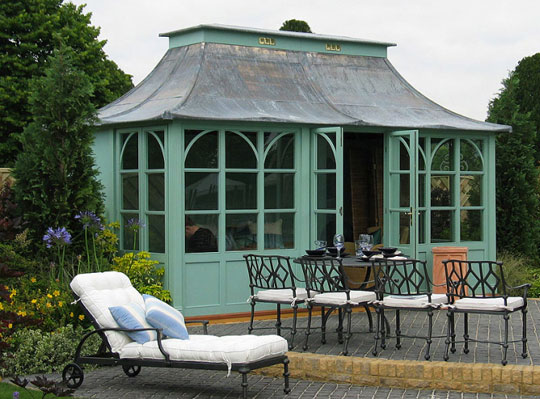 Luxury Outdoor Sheds : HSP Garden Buildings Luxury Outdoor Metal Furniture at Home