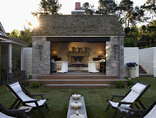 Desire to Inspire Luxury Garden Buildings at Home Infatuation Blog