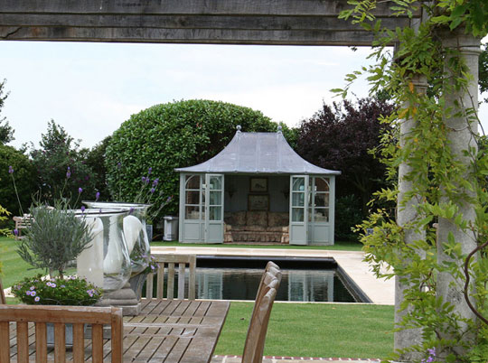 Luxury Outdoor Sheds : Discover  HSP Luxury Garden Buildings  Home Infatuation Blog  Dream