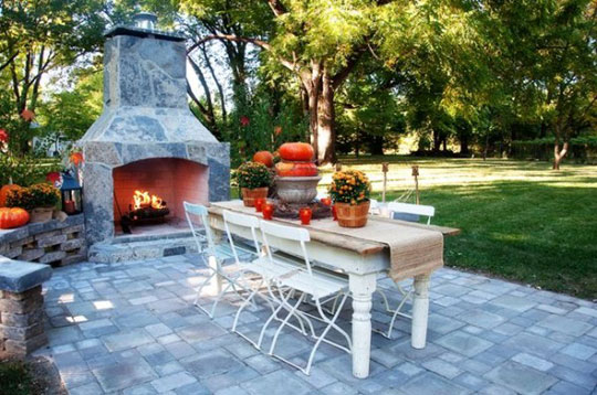 Home Design Pics Modern Country Fall Outdoor Decorating at Home Infatuation Blog