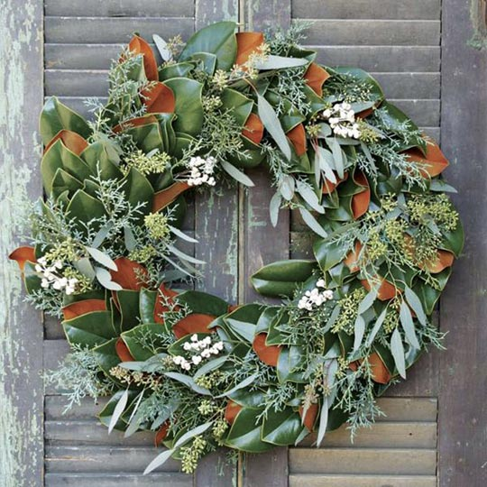 Luxury Fresh and Dried Wreaths at Home Infatuation Blog