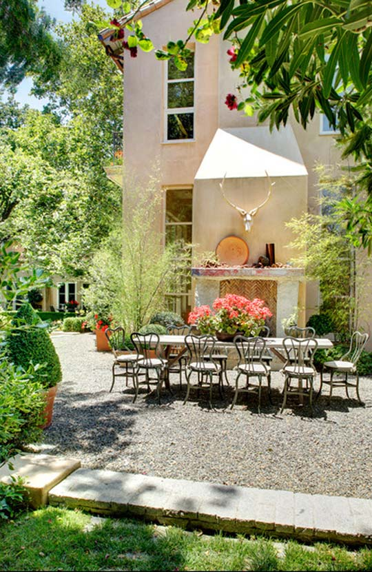 Dave Adams Luxury French Provincial Outdoor Spaces at Home Infatuation Blog