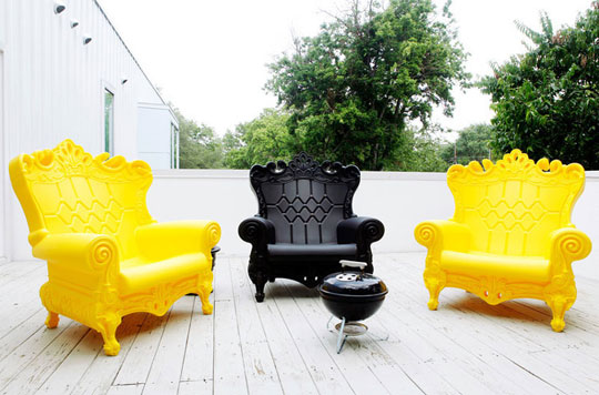 Contemporary French Provincial Outdoor Furniture at Home Infatuation Blog