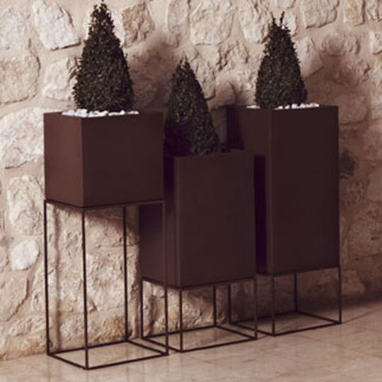 Luxury Planters for Outdoor Holiday Decorating at Home Infatuation Blog