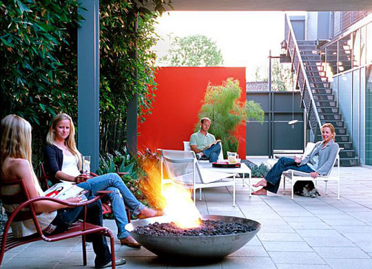 Decoist Decorating with Red in Luxury Outdoor Spaces at Home Infatuation Blog