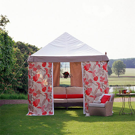 House to Home Decorating with Red in Luxury Outdoor Spaces at Home Infatuation Blog