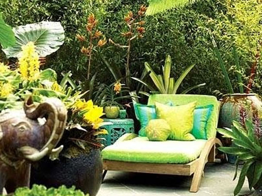 Agricola Redesign Decorating with the Color Green in Your Outdoor Space at Home Infatuation Blog