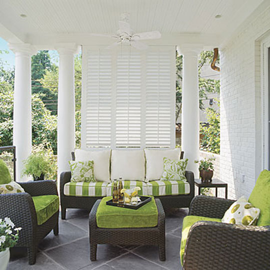 Southern Living Decorating with Green in Your Outdoor Space at Home Infatuation Blog