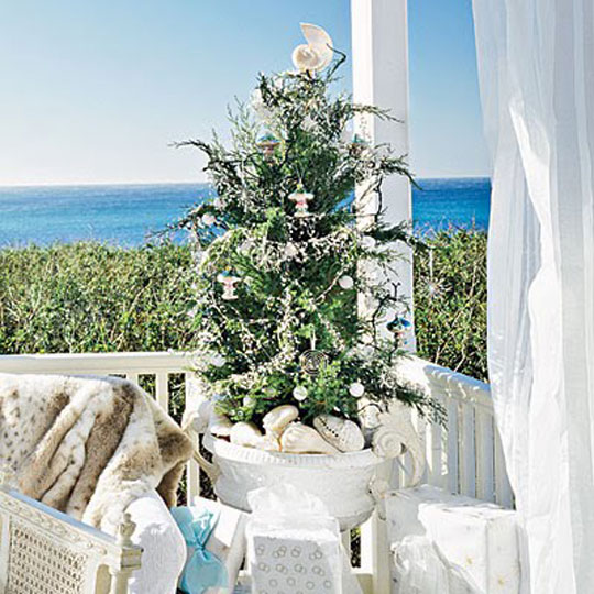 Coastal Living Luxury Holiday Outdoor Christmas Tree at Home Infatuation Blog