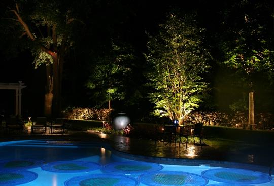 Preferred Properties Landscaping Michael Gotowala Pool Lighting