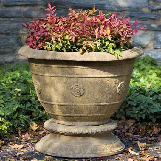 Color for Luxury Fall Planters at Home Infatuation Blog