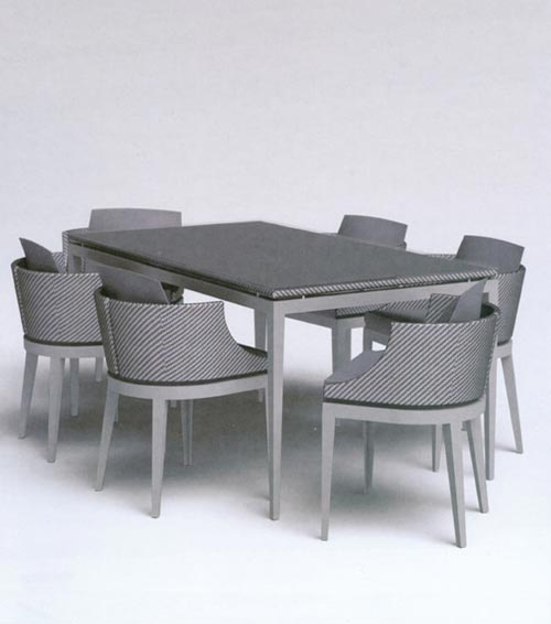 Steve and James Hollywood Regency Outdoor Dining Set 2 at Home Infatuation Blog