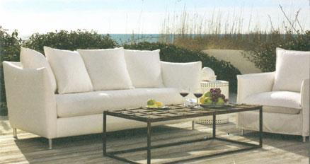 Attirant Lee Slip Covered Outdoor Sofa At Home Infatuation Blog