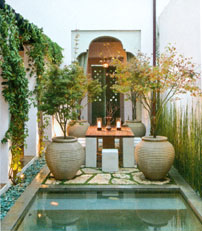 Garden Design Magazine and Small Outdoor Spaces at Home Infatuation Blog