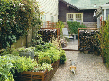 Sunset Magazine and Small Outdoor Spaces at Home Infatuation Blog