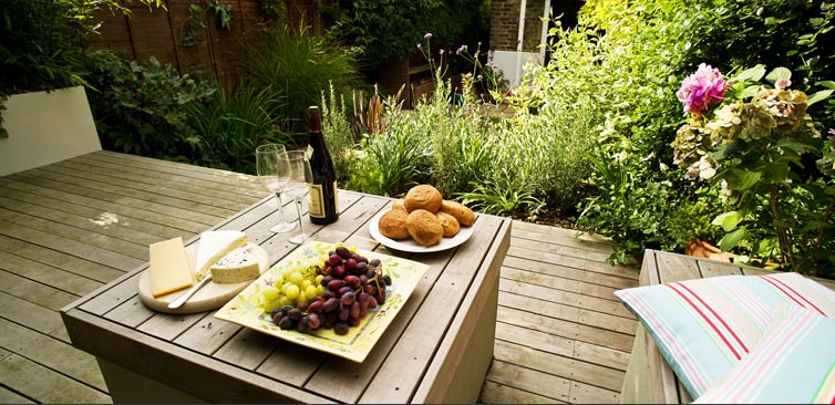 Modular Garden Small Outdoor Space Design 7 at Home Infatuation Blog