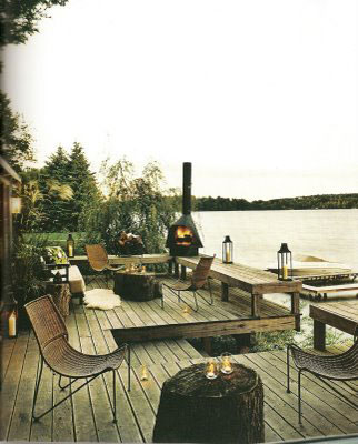 Tom Filicia Small Outdoor Space Design at Home Infatuation Blog
