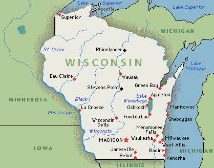 EA WorldView Home A Beginners Tour Of The US Elections The - Us map wisconsin