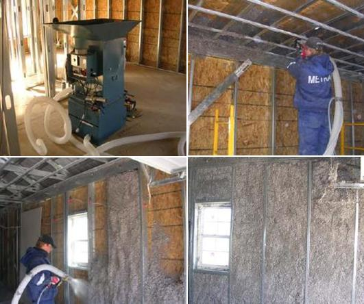 Affordable housing insulation materials for Mold resistant insulation